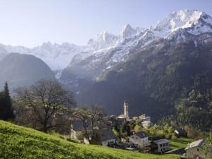 Wandertage Bergell im Bergfrühling