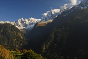 Wandertage Goldener Herbst im Bergell