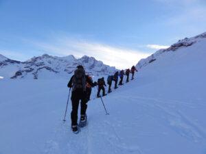 Schneeschuh-Trekking Oberengadin und Albulapass (GR)