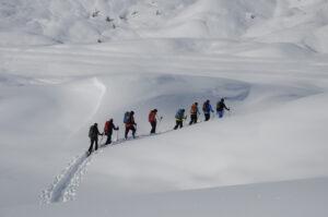 Schneeschuh-Silvester-Tour Arolla, Val d'Hérens (VS)