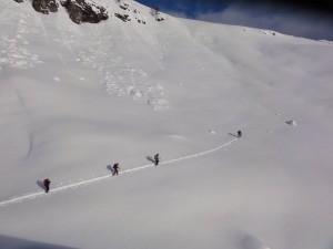Schneeschuh-Lawinenkurs im Diemtigtal (BE)