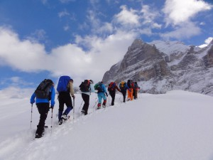 Schneeschuh-Schönwetter-Tagestour am 21. Dezember 2018