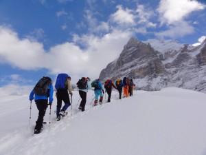 Schneeschuh-Schönwetter-Tagestour am 23. Februar 2019