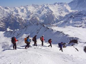 Schneeschuhwandern ab Berggasthaus im Avers (GR)