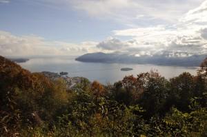 Sonniger Spätherbst oberhalb Verbania am Lago Maggiore (I)