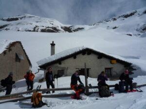 Schneeschuh-Schönwetter-Tagestour am 12. Januar 2020