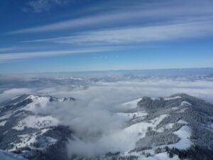 Schneeschuh-Schönwetter-Tagestour am 25. Januar 2020