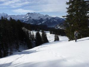 Schneeschuh-Schönwetter-Tagestour am 1. Februar 2020