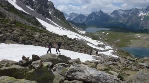 Trekking im Nordtessin zwischen Cristallina und Basodino (TI)