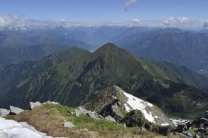 Trekking quer durch das Valle Anzasca zum Monte Rosa (I)