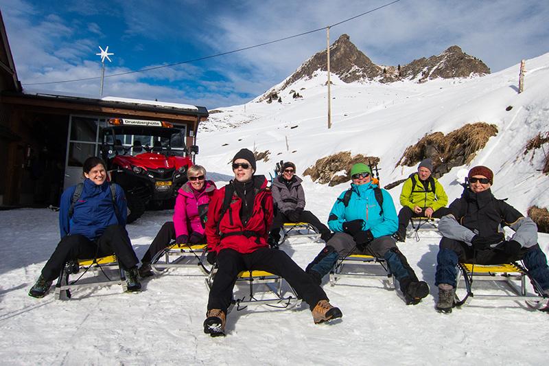 Schneeschuhtour Druesberghütte PPB