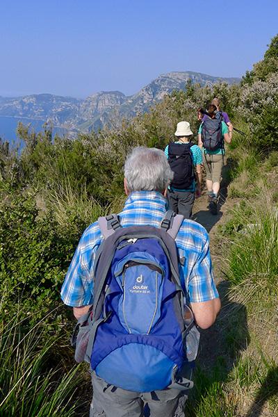 Sentiero degli Dei nach Positano