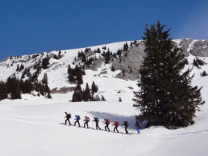 Schneeschuhwandern ab Hotel in Vrin (GR)