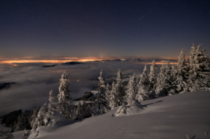 Schneeschuh-Vollmond-Tour 8. Februar 2020