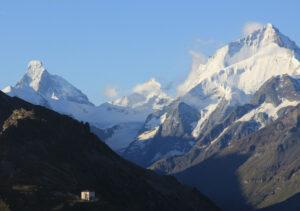 Wandertage Val d'Anniviers ab dem historischen Hotel Weisshorn