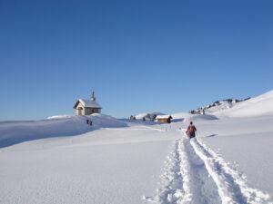 Schneeschuh-Weekend im heimeligen Heimeli in Sapün (GR)