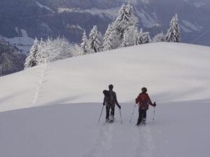 Schneeschuh-Weekend ab gemütlichem Hotel in Wergenstein (GR)