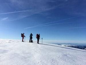 Schneeschuhwandern ab Hotel auf der Griesalp (BE)