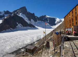 Gletschertour: Jungfraujoch-Konkordia-Finsteraarhornhütte-Grimsel