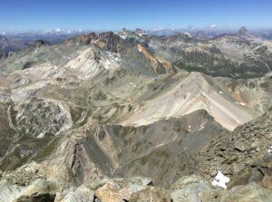 Alpine Tour Piz Julier und seine Freunde – mit Bergführerin