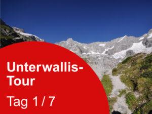 Unterwallis – 7 Tagestouren zu Blumen und Gipfel über dem Rhoneknie 1. Tag