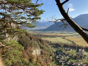 Tagestour am (fast) kürzesten Tag zum Fläscherberg (GR)