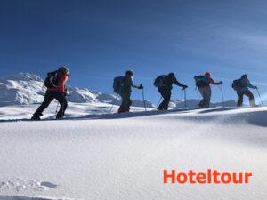 Naturbeobachtungs-Schneeschuhtour über Silvester im Oberwallis